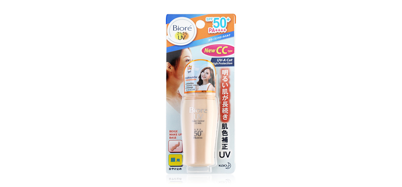 Biore UV Color Control CC Milk SPF50+/Pa+++ 30ml
