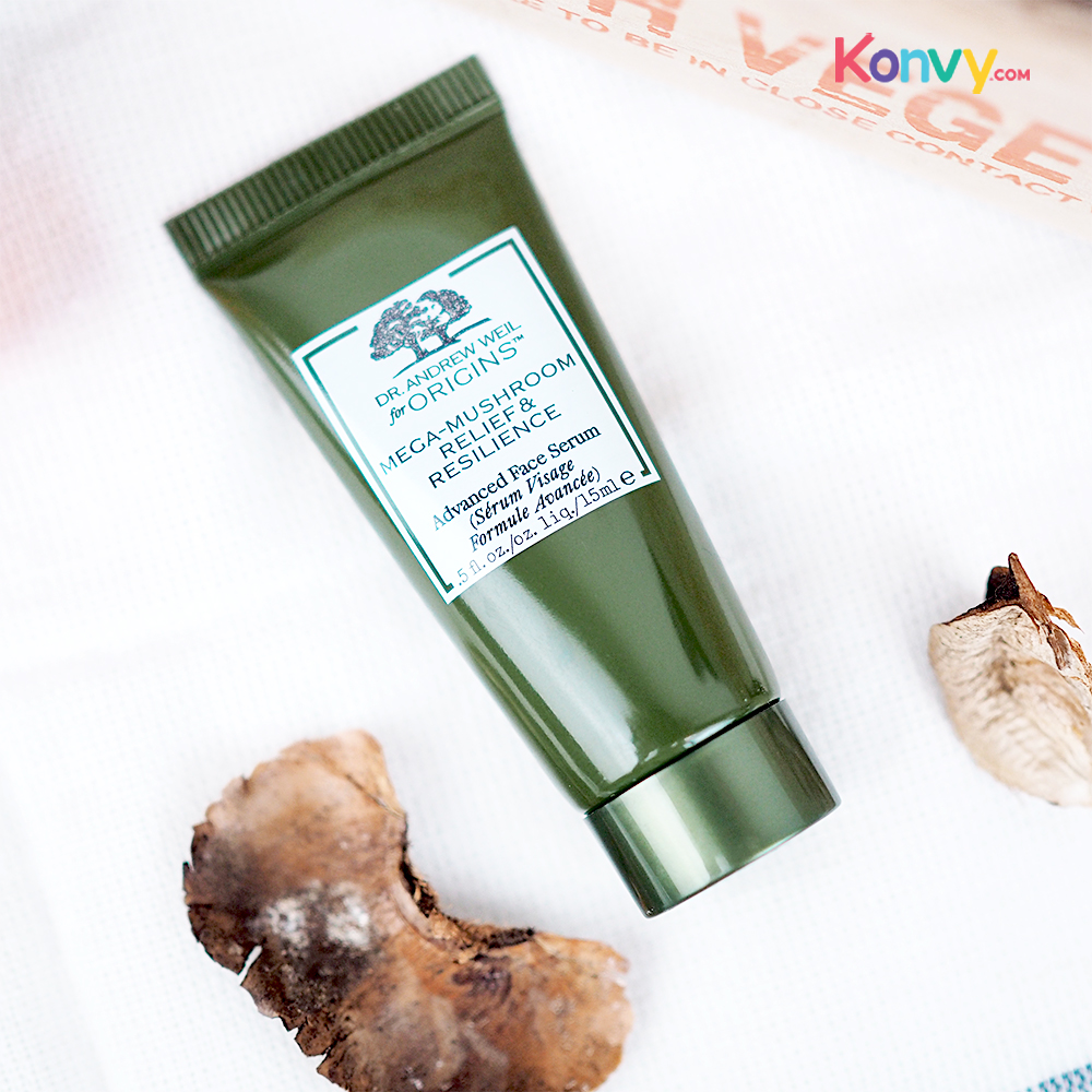 Origins Dr.Andrew Weil For Origins Mega-Mushroom Skin Relief Advanced Face Serum 15ml_2