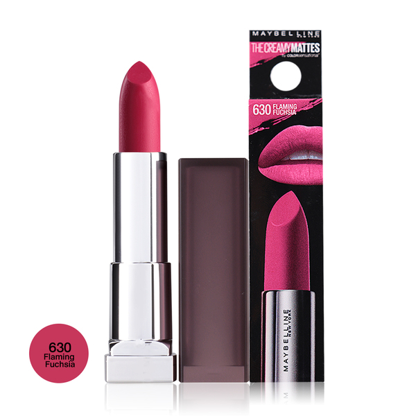 a95a7bc73 Maybelline By Colorsensational The Creamy Matte Lipstick 39g 630 Flaming  Fuchsia.
