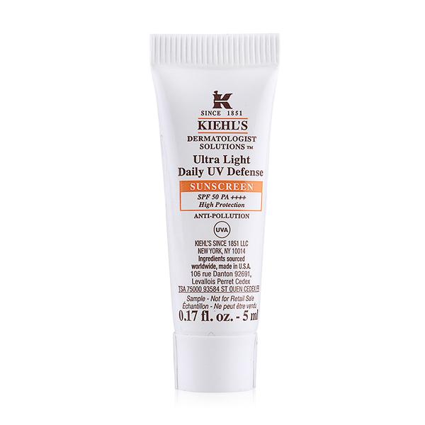 Kiehls Ultra Light Daily UV Defense SUNSCREEN SPF 50 PA ++++ High Porotection. >>>>
