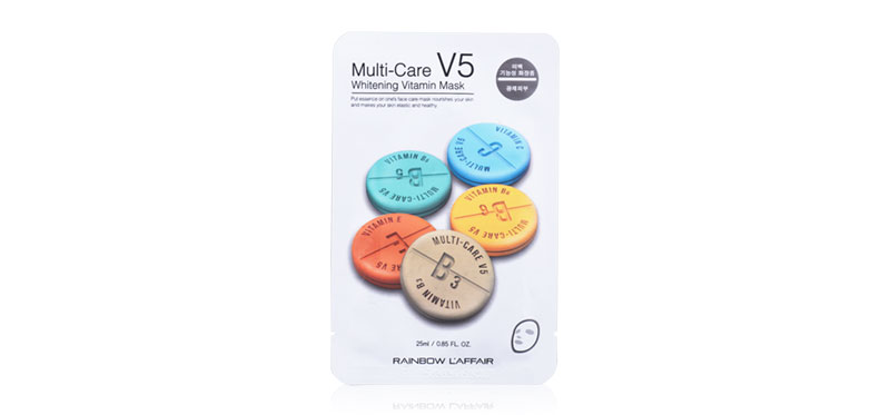Rainbow L'affair Multi-Care V5 Whitening Vitamin Mask 25ml