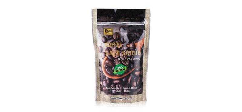 Yoko Gold Coffee Salt Scrub 280g