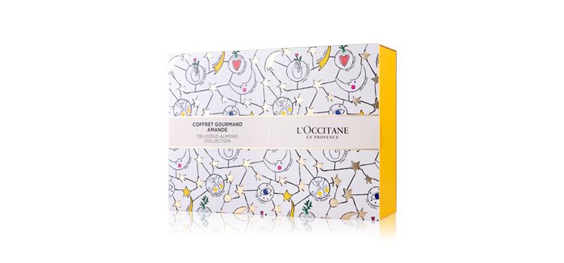 �ล�าร���หารู��า�สำหรั� L'Occitane Xmas Almond Gift Set